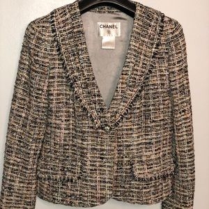 Chanel 04P Collection Classic Tweed Jacket